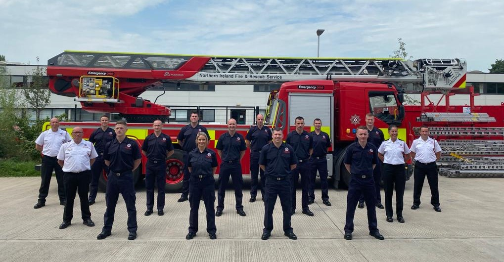 27 newly trained Firefighters.