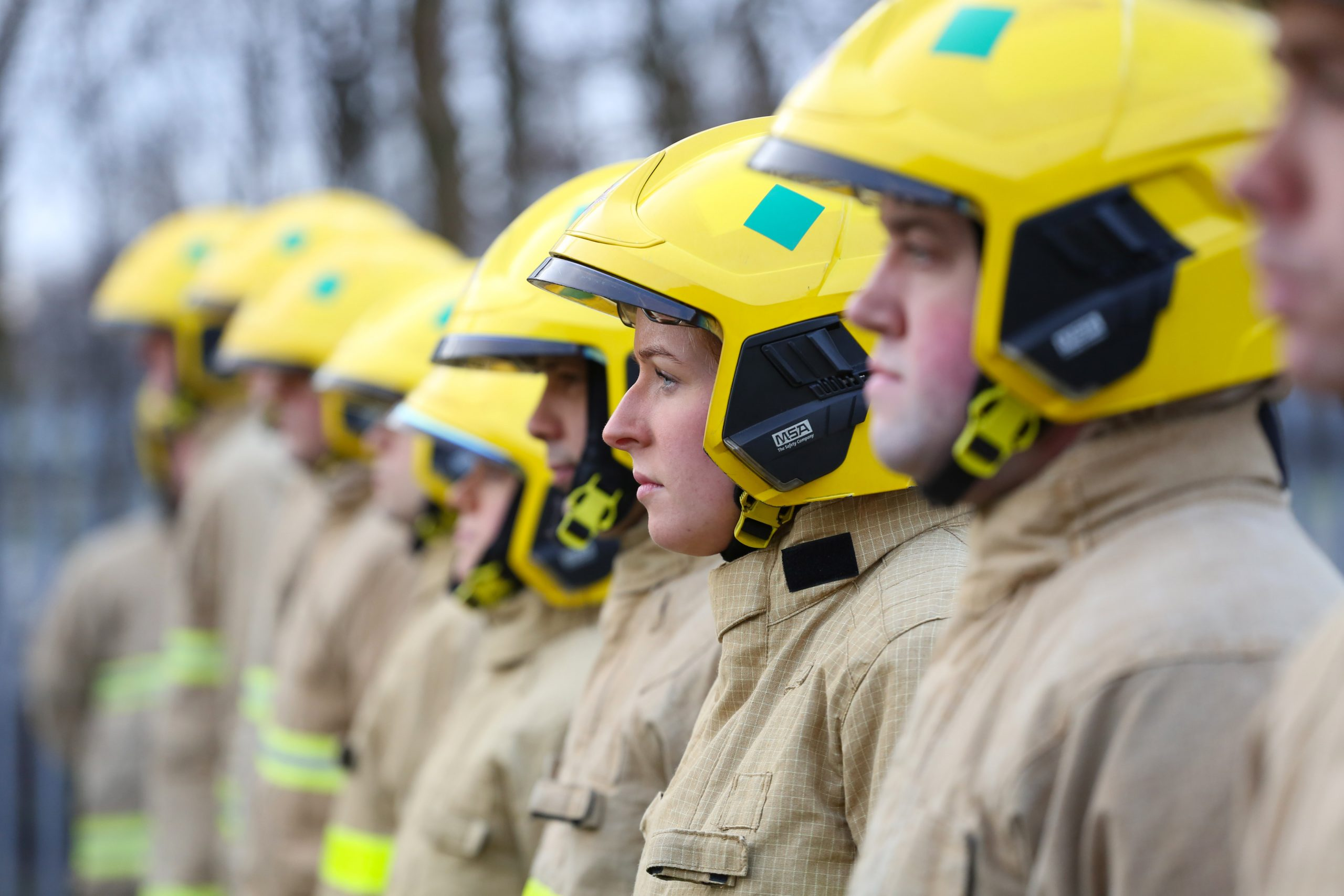 Group of NIFRS Firefighters