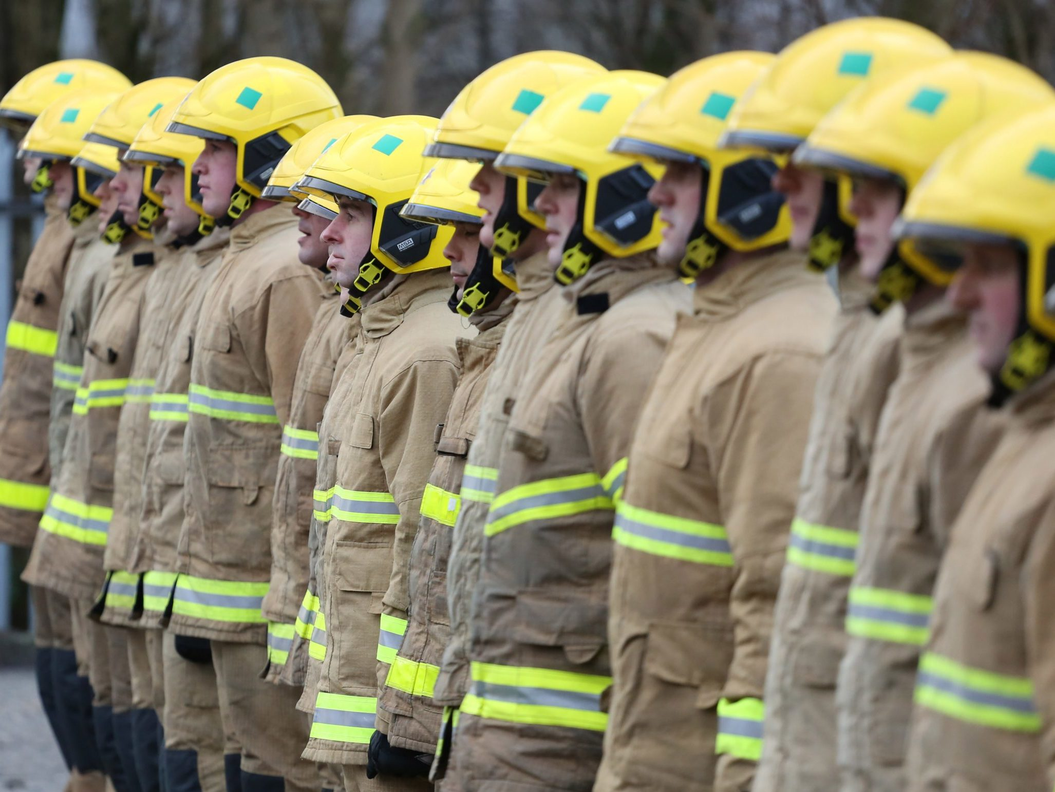 Group of NIFRS Recruits