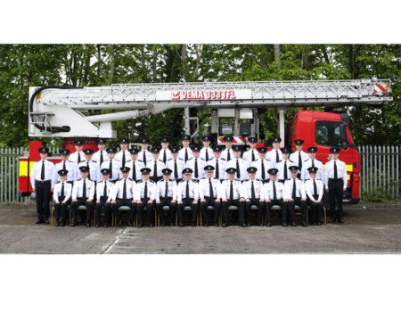 July 2019 Trainee Firefighter Graduation