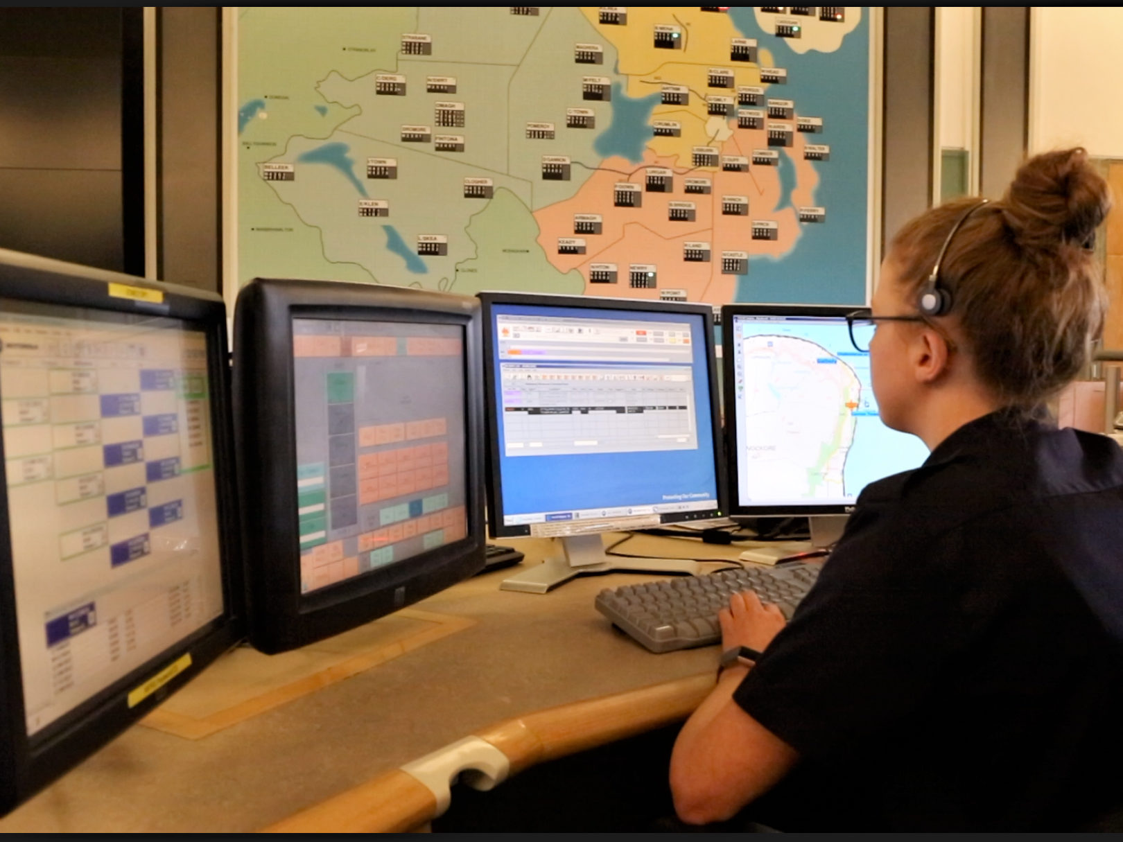 Regional Control Room.