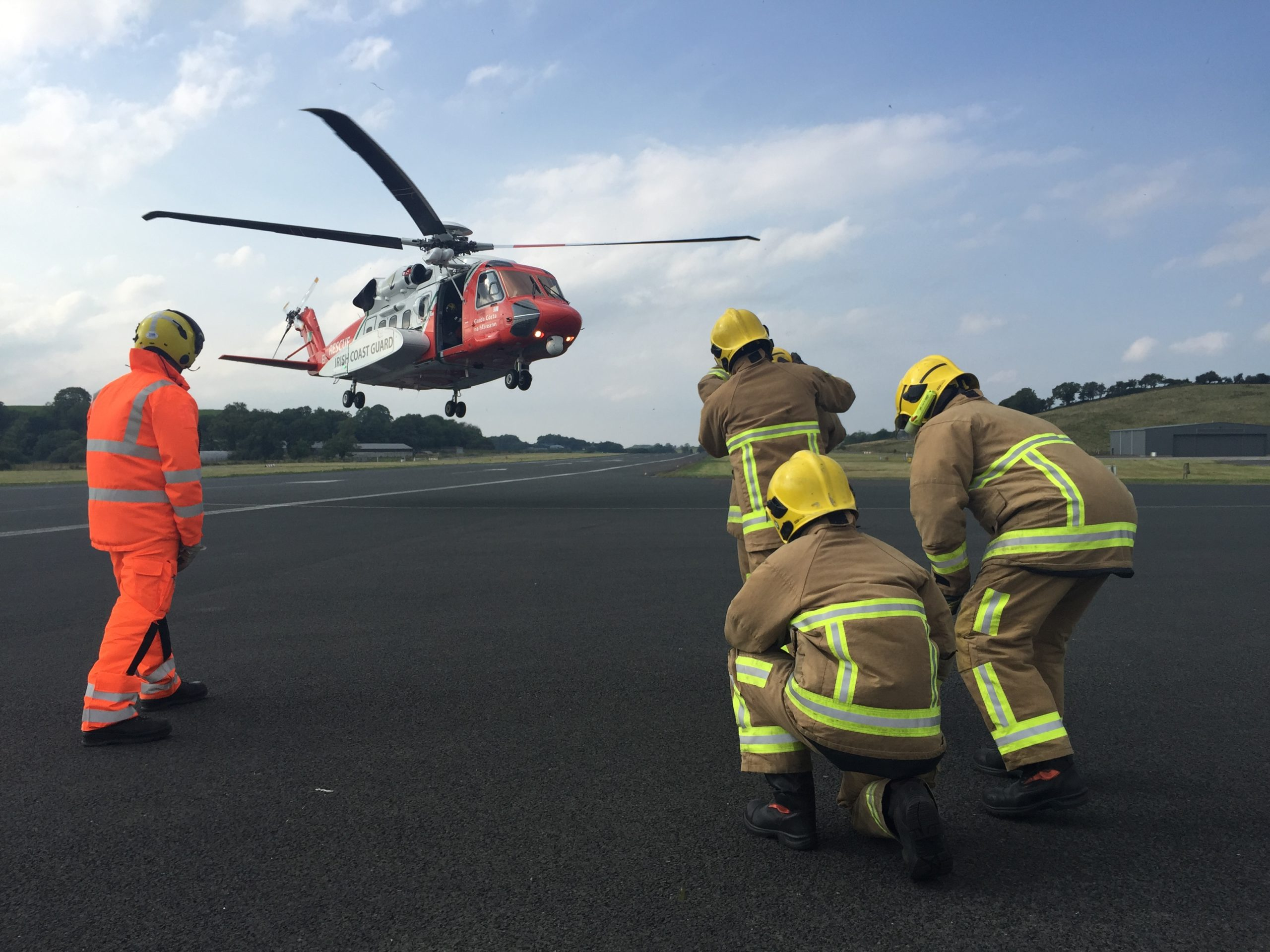 NIFRS and Helicopter