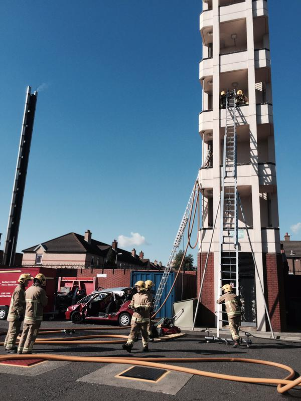 NIFRS Open day at Central Fire Station.