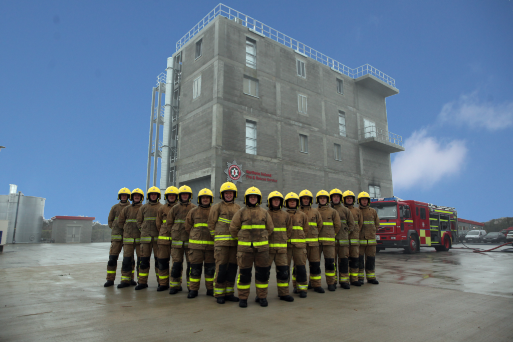 Firefighters at Learning & Development Centre.